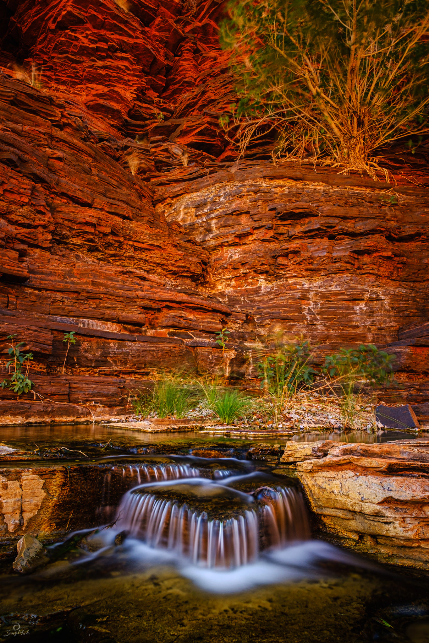 Kalamina Gorge cascade