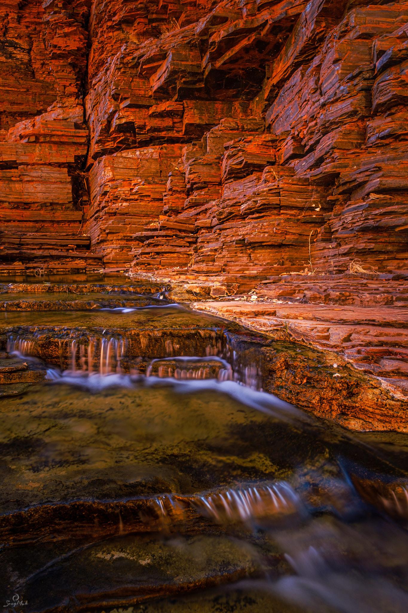 Kalaminia Gorge cascades