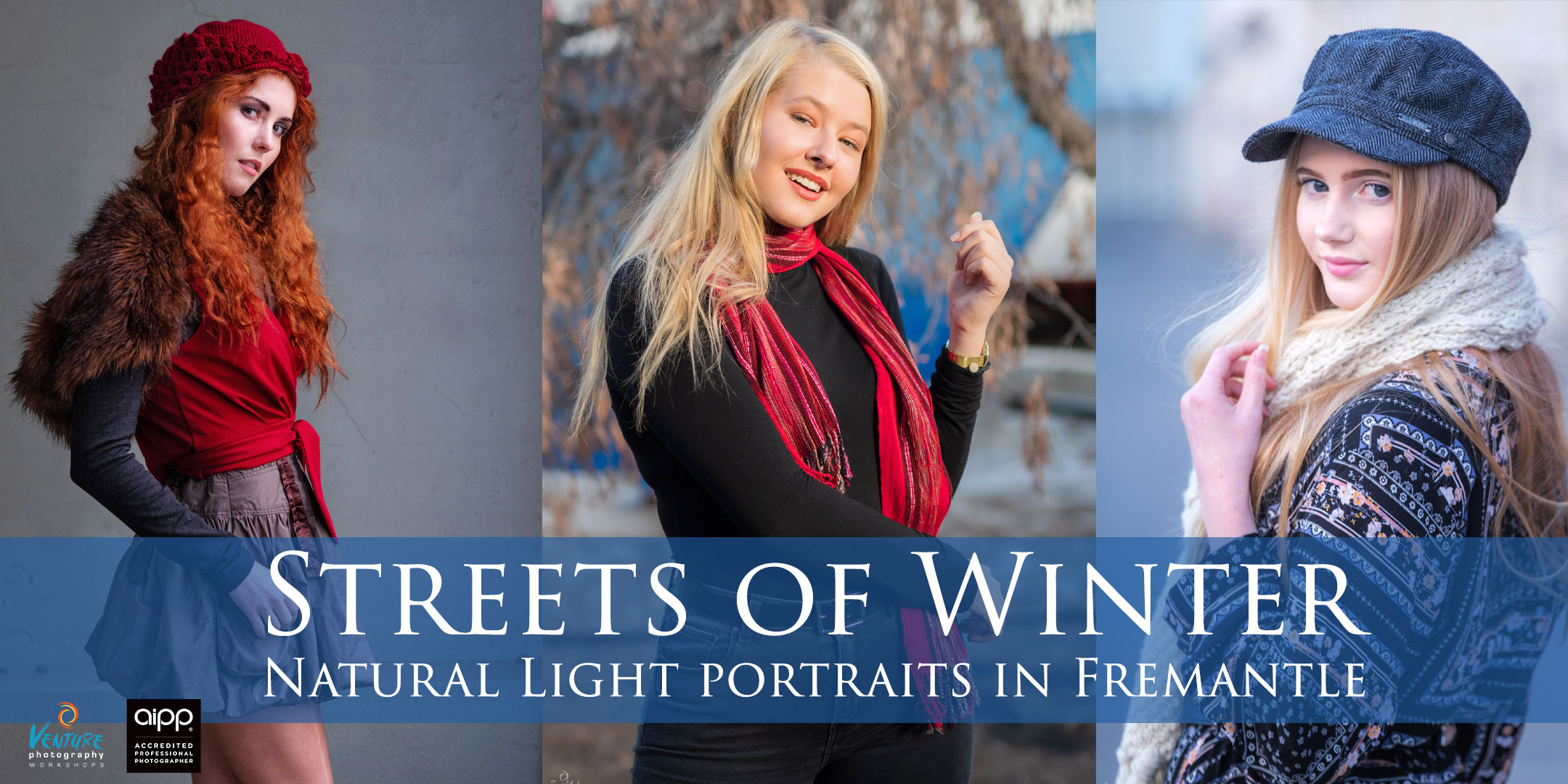 Streets of Winter: Natural Light Portraits in Fremantle