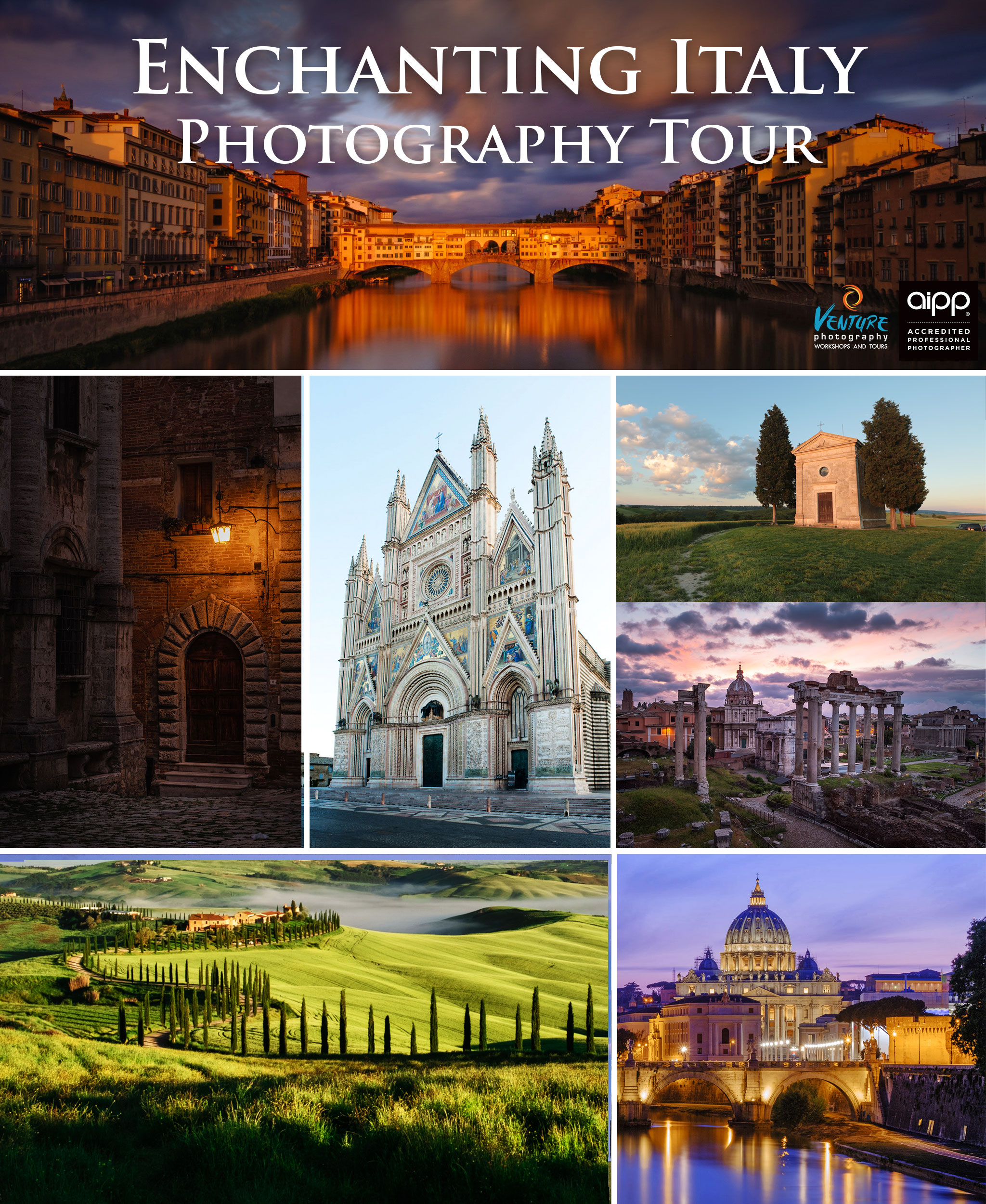 Enchanting Italy Photography Tour 2020