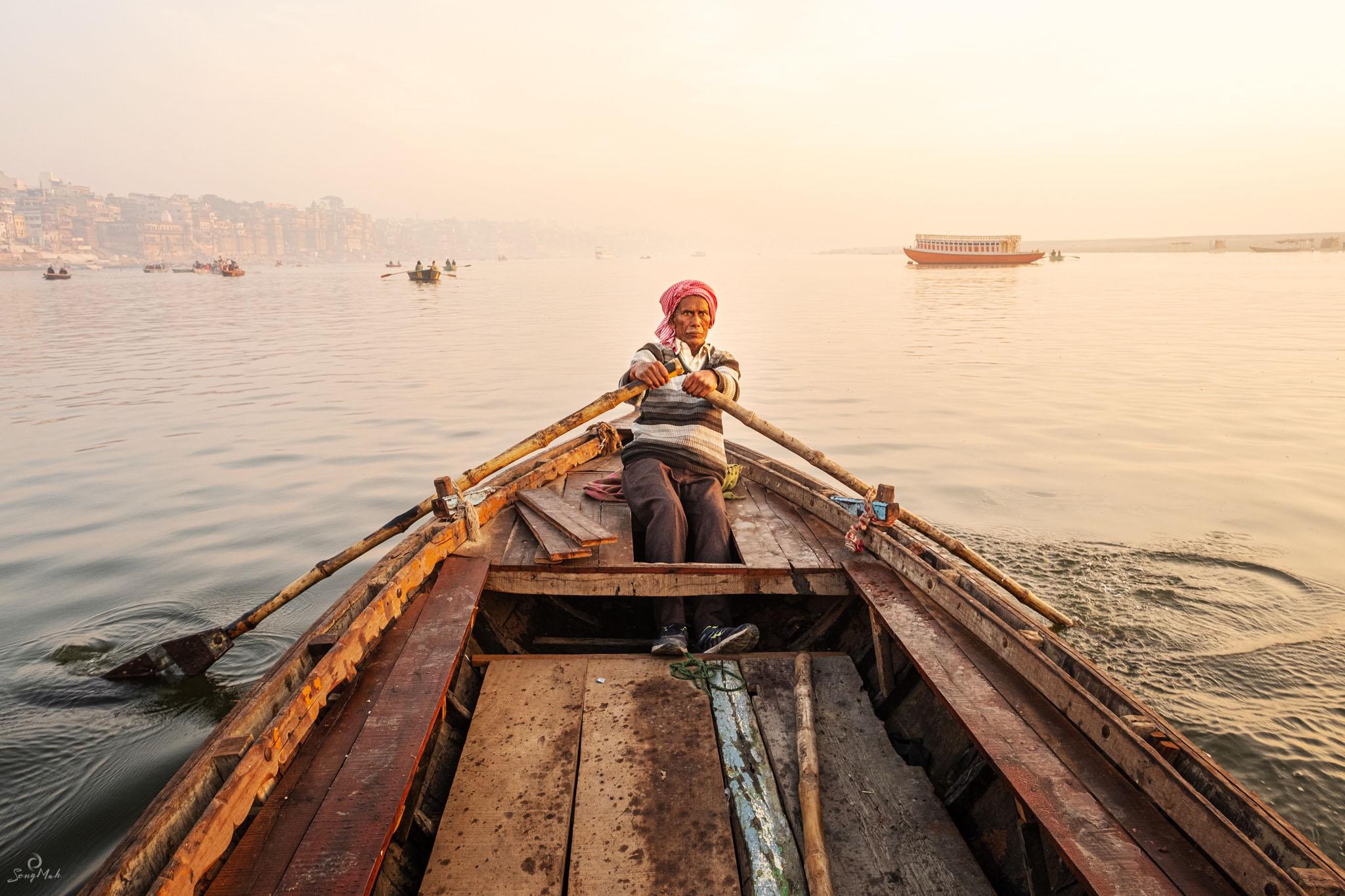 Varanasi boatman