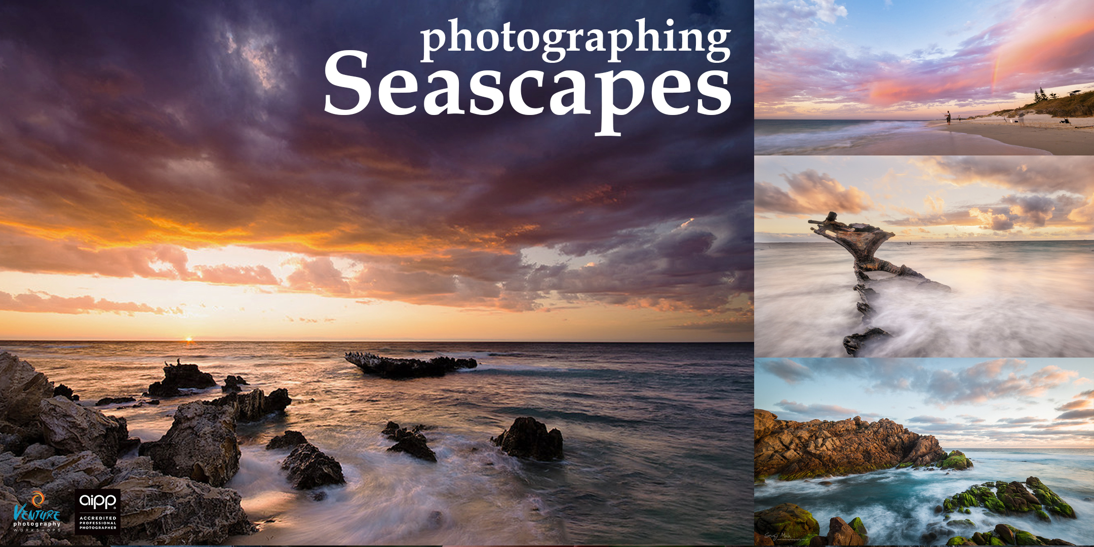 Photographing Seascapes Poster