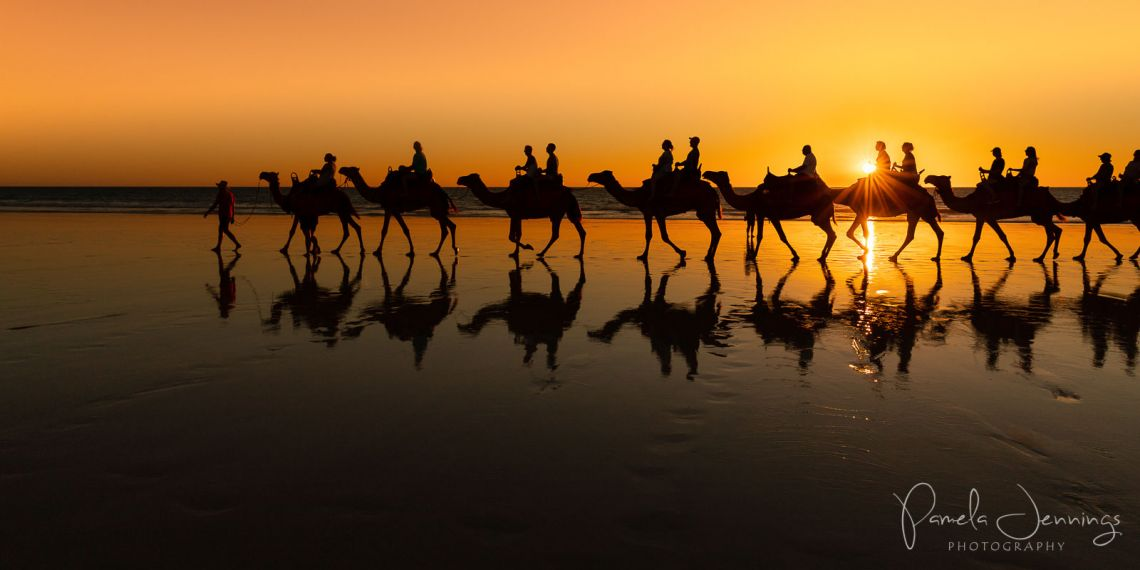 Cable Beach Broome sunset