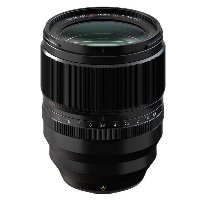 Fujinon XG 50mm f/1.0 WR lens