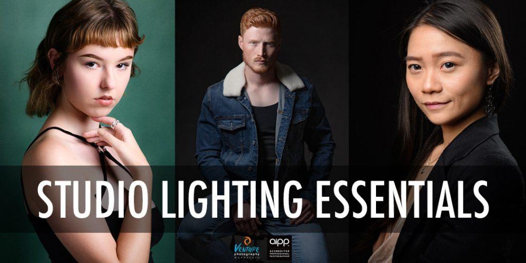 Studio lighting essentials poster