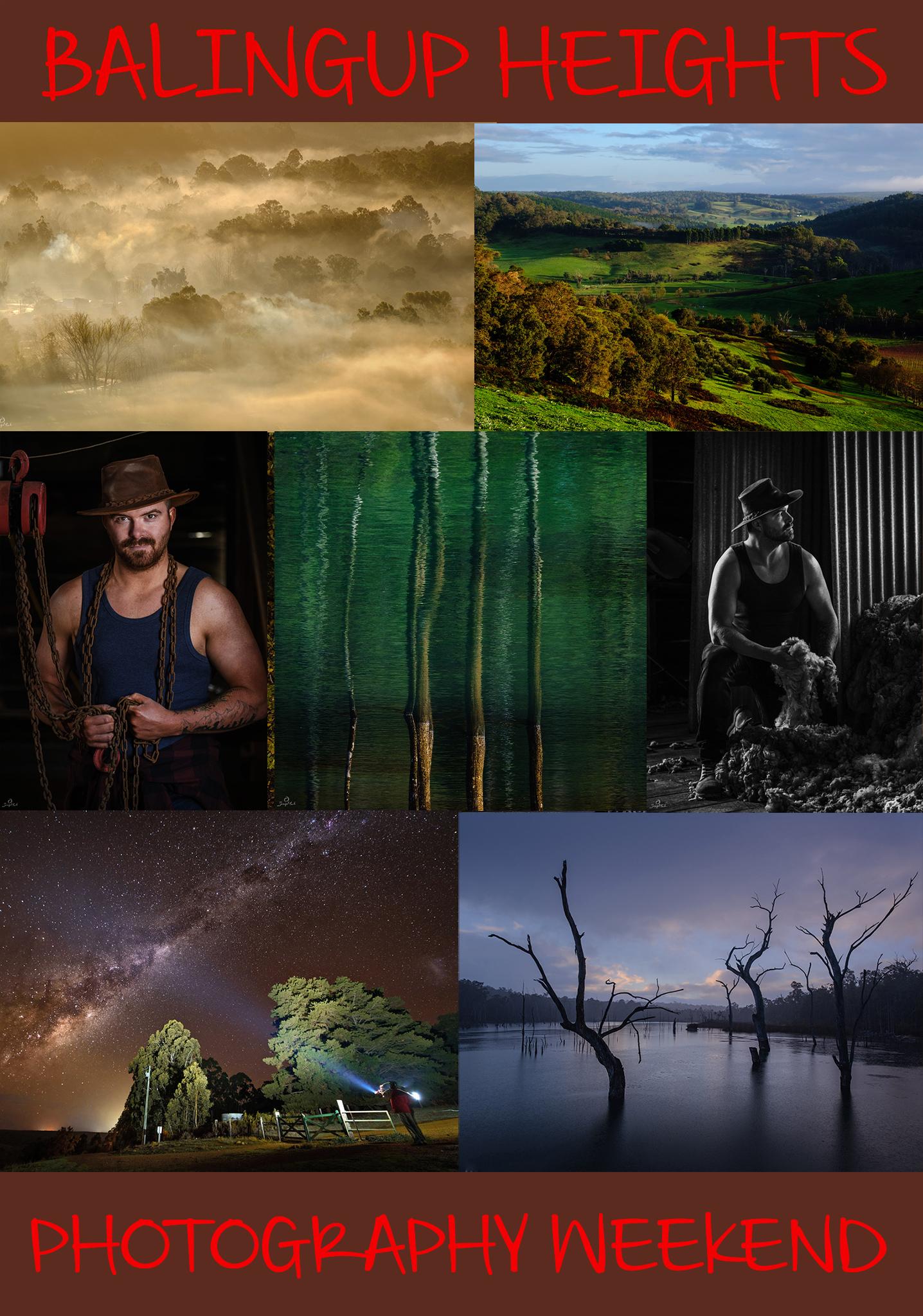 Balingup Heights Photography Weekend