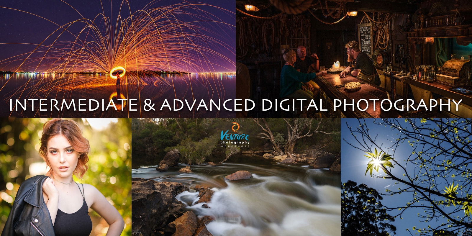 Intermediate and Advanced Digital Photography Poster