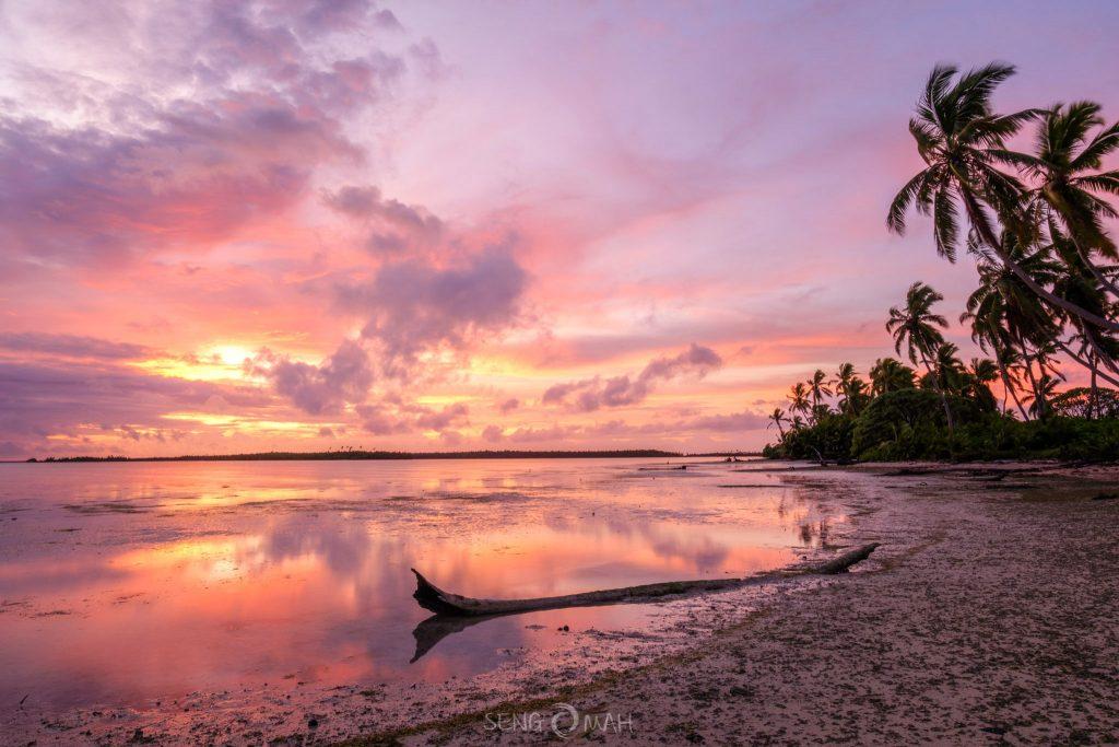 Lagoon dawn