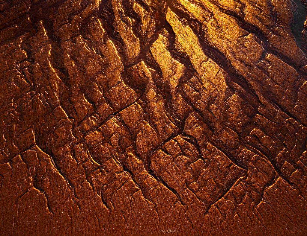 Sand rivulets in Broome