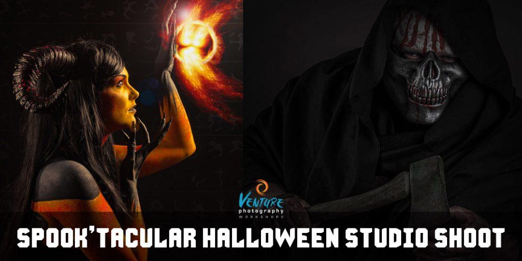 Spook'tacular Halloween Studio Shoot